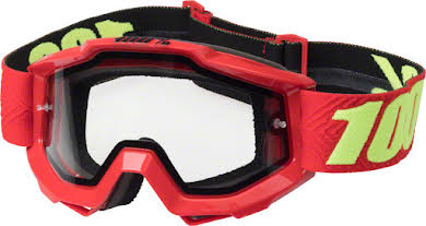 100% Accuri Enduro Goggle: Dual Pane Vented Clear Lens alternate image 1