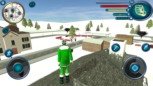 Crime Santa Claus Rope Hero Vice Simulator  captures d'u00e9cran 2