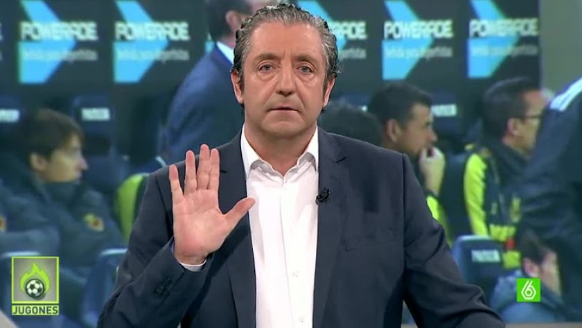 Josep Pedrerol, presentador de Jugones y El Chiringuito.