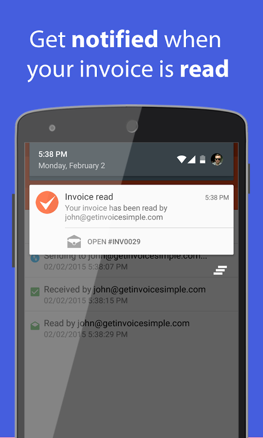 invoice & estimate on the go - android apps on google play, Invoice examples