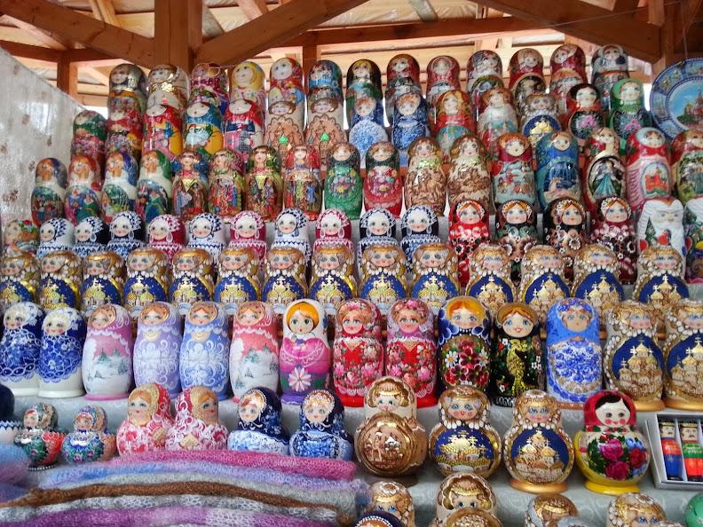 Izmailovsky Market Russian dolls