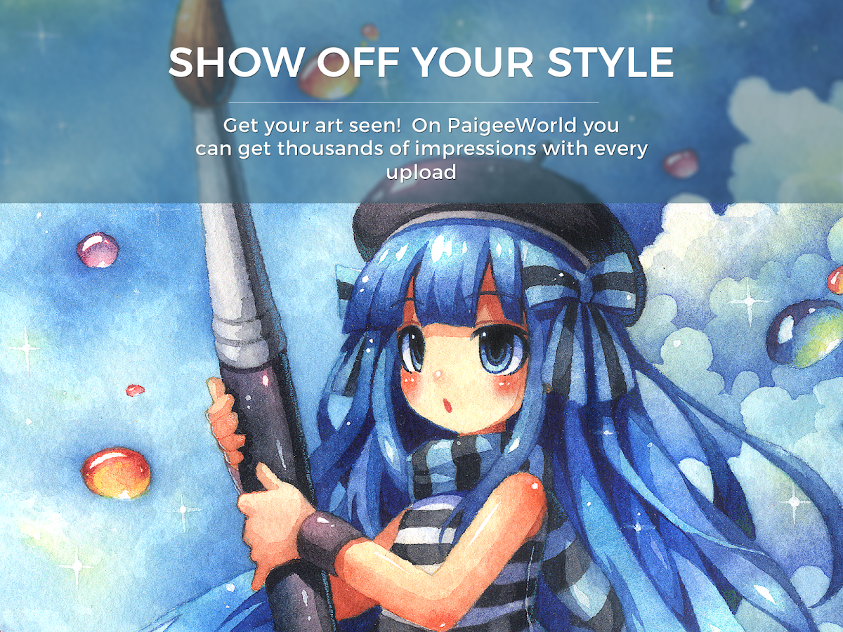 paigeeworld art and drawing community android apps on google play