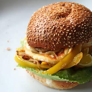 Halloumi Burger.