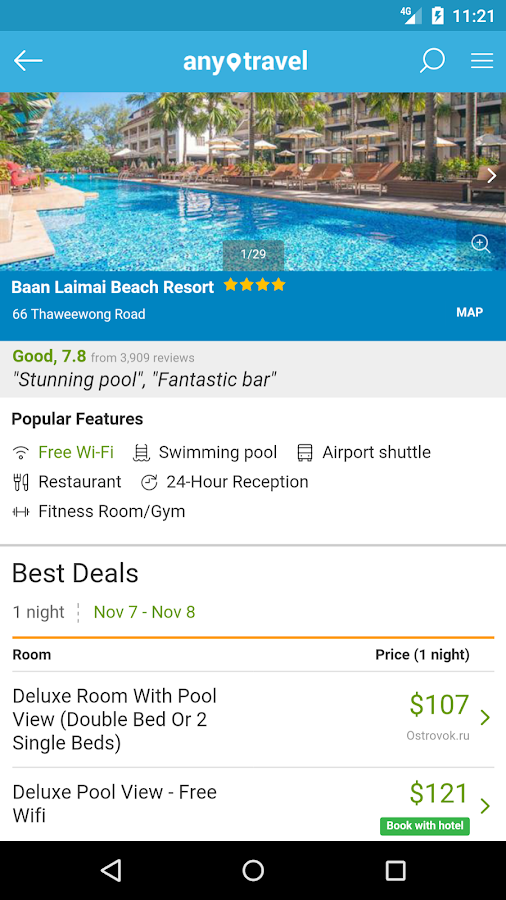 Hotels – any.travel - Android Apps on Google Play