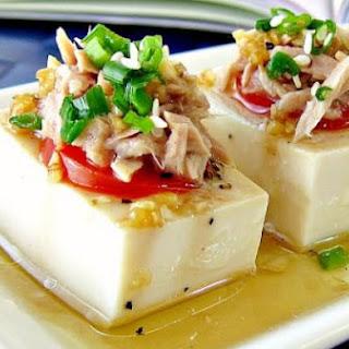 Tuna and Tofu Cold Dish
