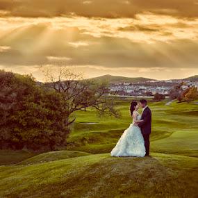 Miriam and Sergio by Cesar Palima - Wedding Bride & Groom