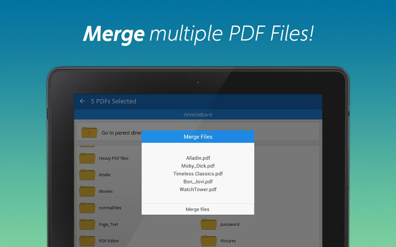 PDF converter pro & PDF editor - pdf merge Screenshot 7
