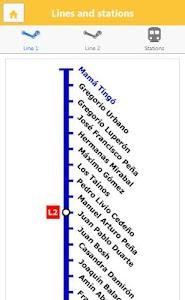 Santo Domingo Subway screenshot 2