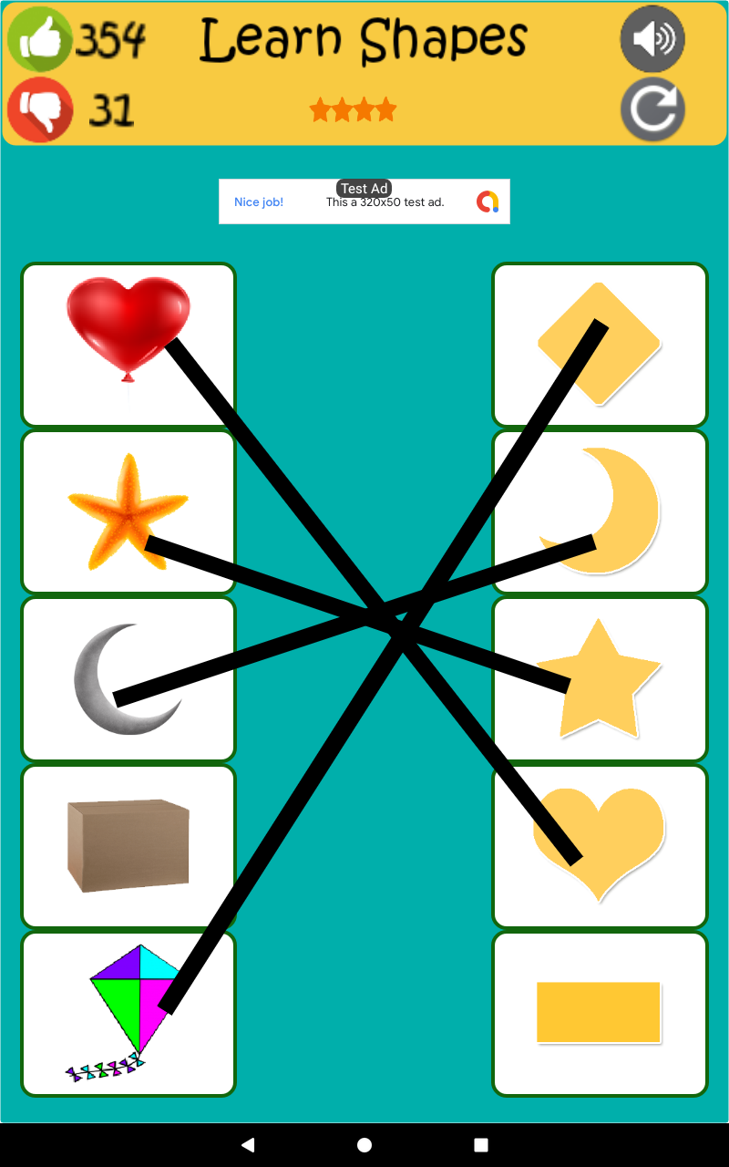 Скриншот Kids Matching Game