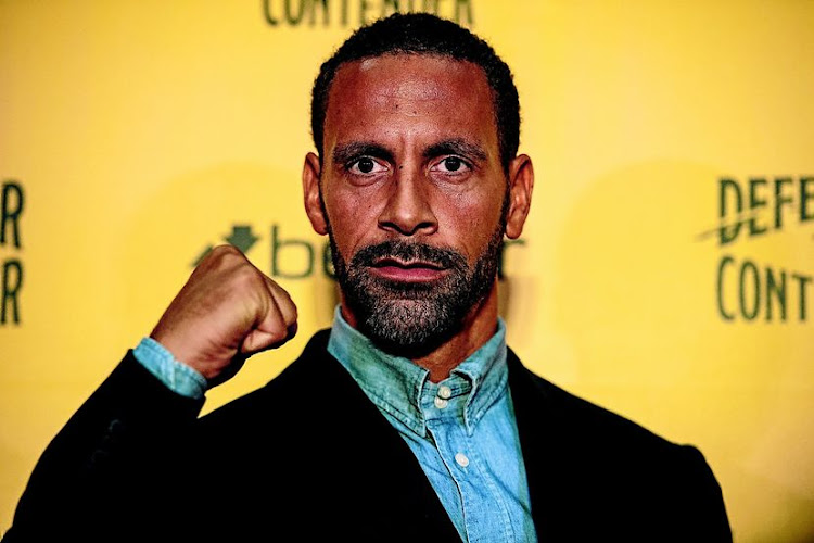 Ex-Man  United defender  Rio Ferdinand is now  a professional boxer. His trainer is    Richie Woodhall, who dethroned SA's legend Thulani Malinga as WBC champ  in 1998. /Chris J Ratcliffe/Getty Images