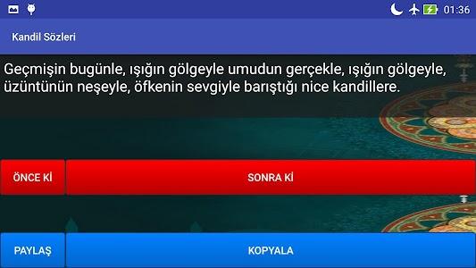 Kandil Sözleri screenshot 4
