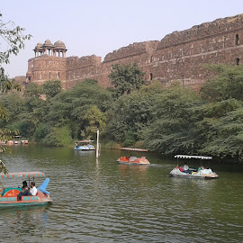 Fort by Abhijit Medhi - Buildings & Architecture Other Exteriors ( water body, historical, fort, monument, lake )