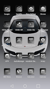 Bacca Gray - Icon Pack screenshot 7