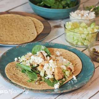Greek Chicken Wrap Recipes