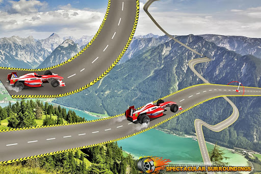 Formula Car Stunt  Race apkmr screenshots 9
