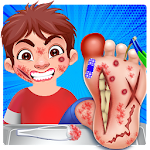 subway doctor foot Icon