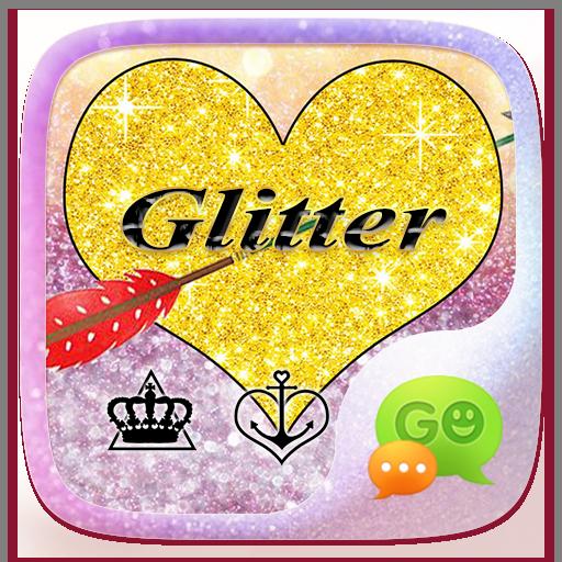(FREE) GO SMS GLITTER THEME