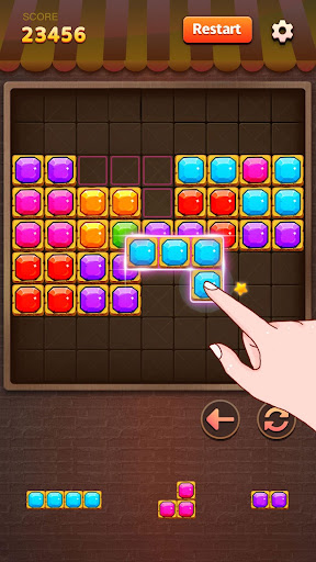 Gemstone Block Puzzle - building blocks android2mod screenshots 3