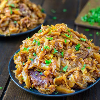 Cabbage with Ribs.