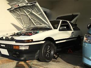 スプリンタートレノ AE86 GT- APEX のカスタム事例画像 いなたんさんの2018年11月16日20:07の投稿