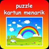 Puzzle kartun gemes