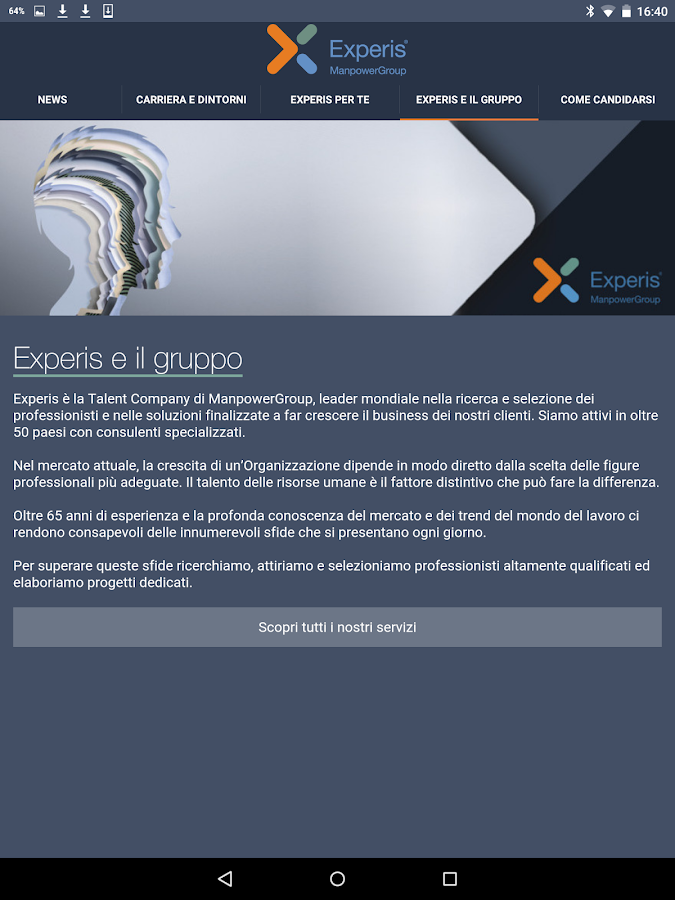 My Career by Experis Italia- screenshot