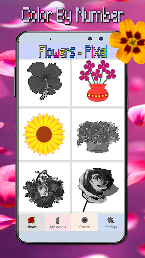 Download Flower Coloring By Number-PixelArt 17.3 1
