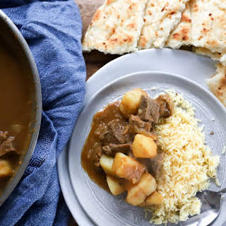 Ruby's Potato and Beef Curry.