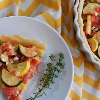 Summer Vegetable Tart.