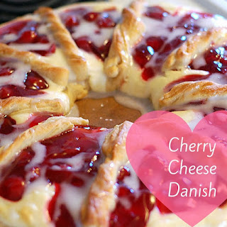 Cherry Cheese Danish