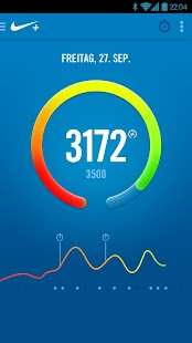 Nike+ FuelBand Screenshot