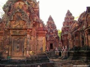 Photo: #009-Le temple hindouiste de Banteay Srei