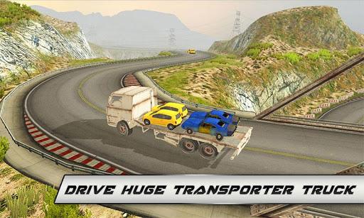 Offroad Car Transporter Truck