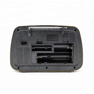 Boxa vintage portabila cu Bluetooth, Radio Fm, USB, microSD, AUX