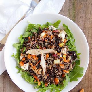 Wild Rice Salad with Chicken and Tart Cherries
