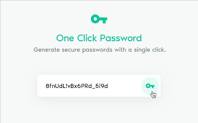 One Click Password