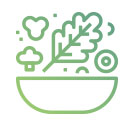 icone de salada