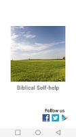 Screenshot of Biblical Self Help