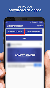 Video Downloader for Facebook -FB Video Downloader Apk  Download For Android 1