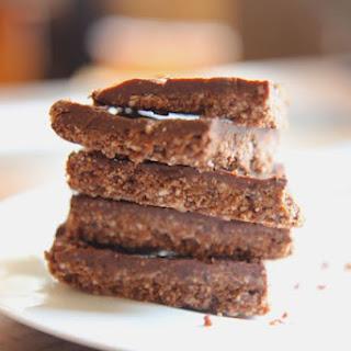 Dark Chocolate Almond Bars with Coconut - Vegan, Gluten-Free, No Added Sugar!.