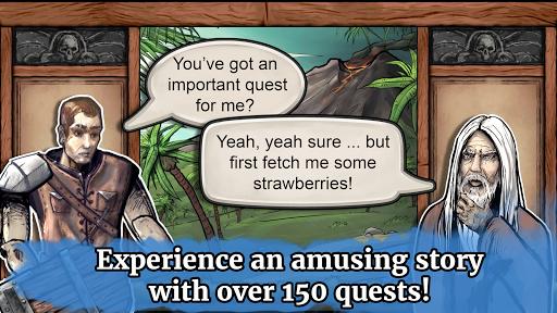 Paladin's Story: Fantasy RPG (Offline) filehippodl screenshot 8