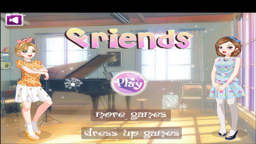 Best Friends Dress Up Game