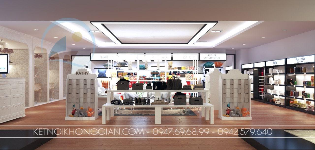 thiết kế cửa hàng gia dụng nhập khẩu