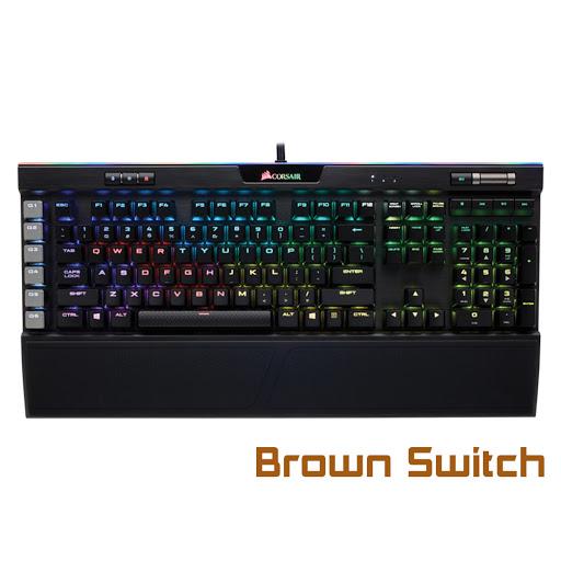 Bàn phím cơ Corsair K95 Platinum RGB MX Brown