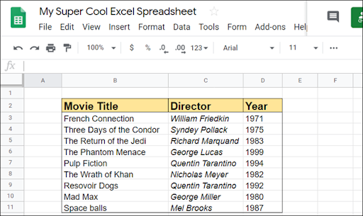How to Add or Remove Rows and Columns in Google Sheets