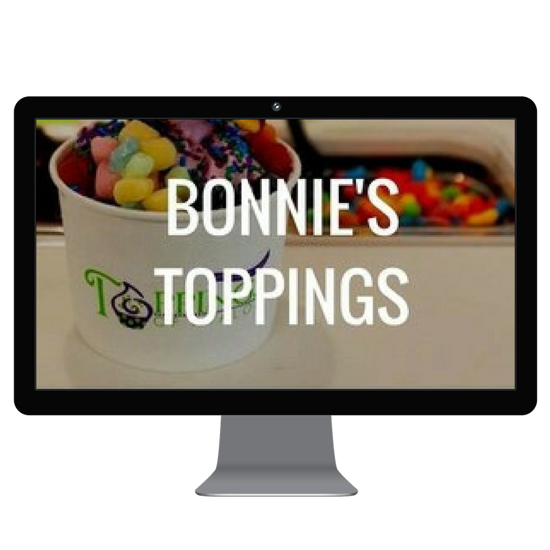 bonnie's toppings