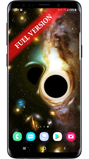Black Hole 3d Parallax Live Wallpaper Apk Download For Android