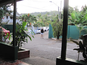 Photo: Halyconia Inn, view out front gate
