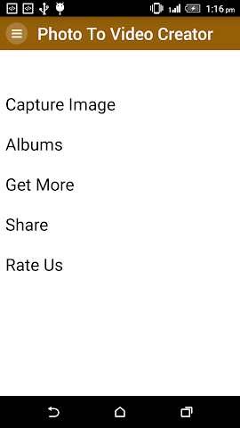 android Photo To Video Creator Screenshot 0