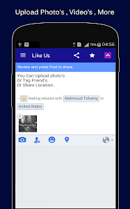 FastWeb For Facebook screenshot 1